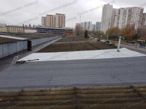 Гидроизоляция крыши гаража битумными материалами