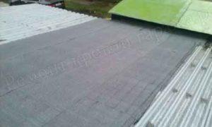 Гидроизоляция металлической крыши гаража